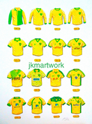 norwich city shirts through the years print